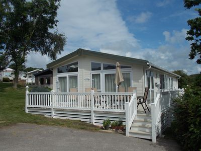Photo for Lodge With Shared Heated Indoor And Outdoor Pools on site. Gas BBQ. Parking For