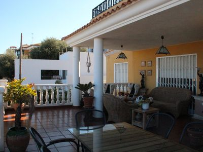 Photo for PRIVATE VILLA WITH POOL-GARDEN-BARBECUE AND GARAGE 2 SEATS