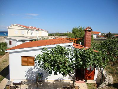 Photo for 2 bedroom Villa, sleeps 4 in Silba with Air Con
