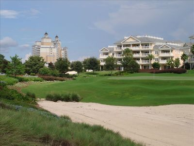 Photo for Reunion Centre Court Ridge 3/3 Golfview End Unit-WaterPark&Golf Access Available