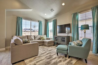 Experience the beauty of the St. George area from this upscale vacation rental!