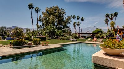 Photo for Palm Springs Picasso Retreat | Private Pool & Tennis Court | Concierge Service