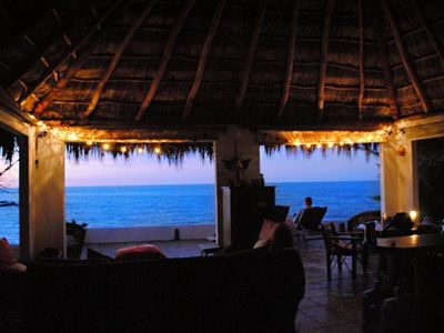 Photo for Oceanfront Palapa, Romantic, Secluded Beach's, Eco Preserve, Near Yelapa