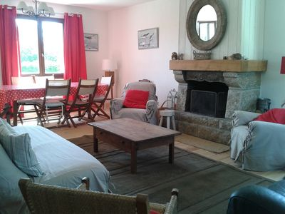 Photo for Family 12-14 people, 6km from Penestin beaches, Arzal dam, Vilaine side