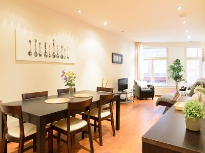This Classy Apartment Is Located In The Heart Of Down Town Amsterdam