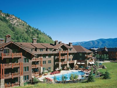 Photo for Ritz Carlton Aspen Highlands BEST 4th floor unit with large balcony slope side