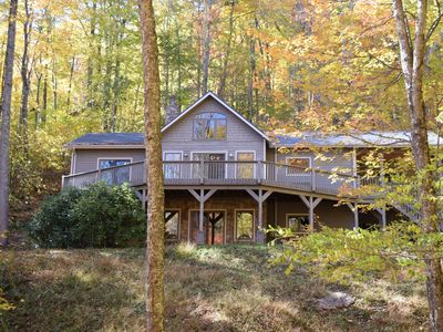 Photo for Discover the magic of the Blue Ridge Mountains at Little Creekside Retreat