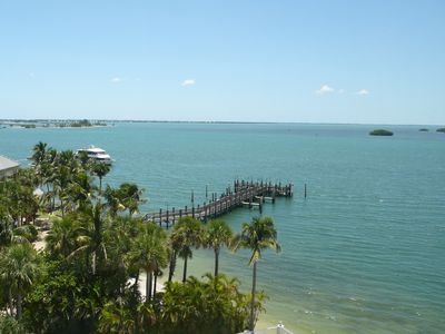 Photo for Luxury 4-Star Waterfront ~ Sanibel Bay View Condo ~ Private Beach and Pool