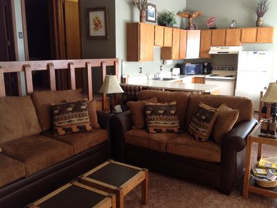 Photo for Beautiful Silverthorne Condo! Skiing, Shopping and Much More!