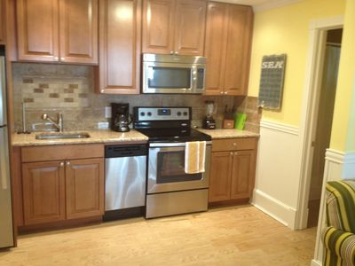 Photo for NJ TAX EXEMPT! 1st Property Off Boardwlk! 100% New 2BR, 2BA behind OC Water Park