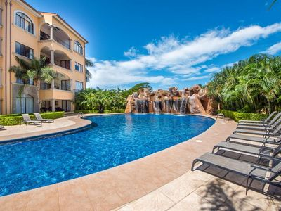 Photo for Moderm 2 bedroom condo, steps from the beach with wonderful ocean views