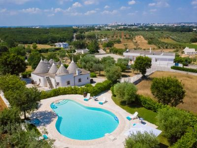 Photo for Delightful complex of panoramic trulli