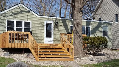Crystal clean Green Lake, Spicer, MN seasonal rental