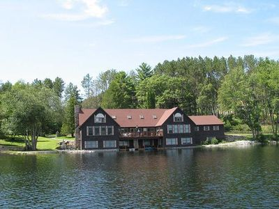 Photo for One of a kind 7,000 sq ft Lakefront Estate. Private beach.