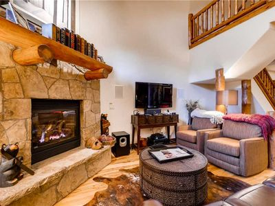 Photo for Spacious Mountain Townhome w/Private Deck & Garage