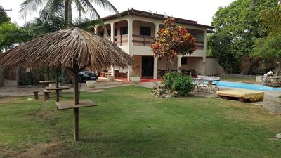 Photo for Fantastic house with beach and a lagoon with WiFi Smart TV & large swimming pool