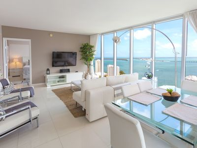 Photo for Luxury condo Presidential Suite with Sea View at the Icon Brickell, FREE SPA