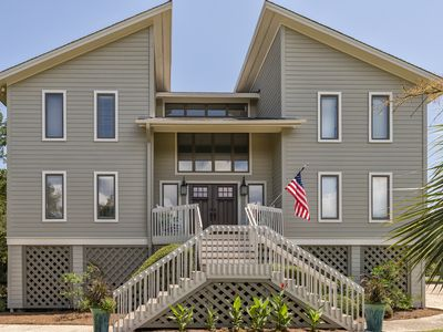 Photo for Spectacular, updated 4 BR, 3.5 BA home with boardwalk access and Amenity Cards!
