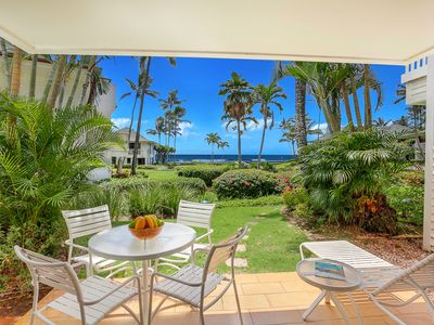 Photo for Poipu Kapili #33: PREMIER INTERIOR & OCEAN VIEWS & BEDROOM AC-HONEYMOONS!
