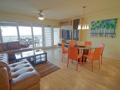 Photo for Beachfront Beauty!  Fully Updated, Wifi, Pool/Hot Tub. 3 Balconies!!!