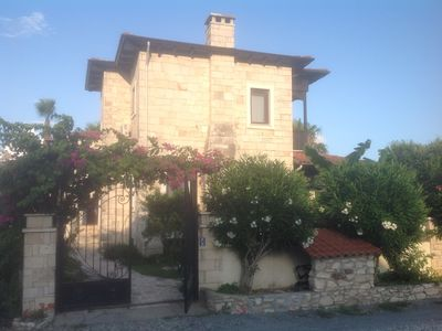 Photo for Stone Built Villa With Private Pool, Gardens And Mountain Views