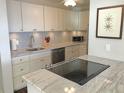 Brand new, upgraded kitchen with stainless steel appliances & soft close cabinet
