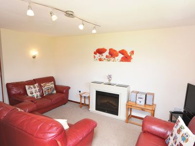 Photo for Spacious villa on family holiday park with seasonal entertainment, pool and wifi