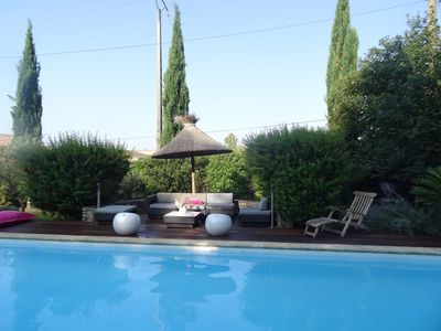 Photo for MAS D'ANGE EN PROVENCE at the foot of the luberon, beautiful quiet and picturesque house,