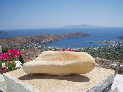 Photo for Cycladic house with amazing view