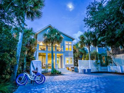 Photo for Executive Access Home! 4 Seater Golf Cart! Gulf Views! Home Audio System!