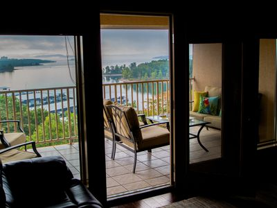 Photo for UPPER LEVEL CONDO WITH AMAZING LAKE VIEW - TWO MILES FROM SILVER DOLLAR CITY