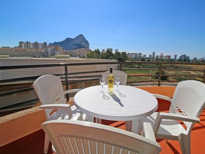 Photo for Nice apartment El Álamo with terrace and parking near the beach in Calpe