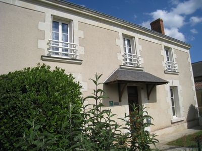 Photo for Old family house in the heart of the vineyard of Layon, close to Saumur
