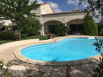 Photo for bright spacious villa and very comfortable near BORDEAUX