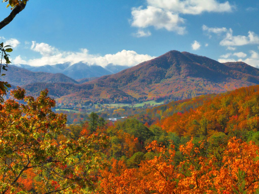 39 a sight to see 39 one of the most picturesque for God s gift cabin gatlinburg