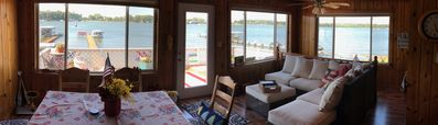Photo for Clear Lake Getaway On The Water with Private Dock - price drop for 2019