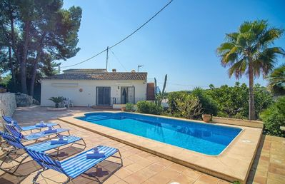 Photo for BALLENA BLANCA, villa for 4 people in Benissa, with sea and mountain views