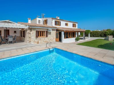 Photo for Can Serra - This Villa includes a private pool, WI-FI & close to local amenities