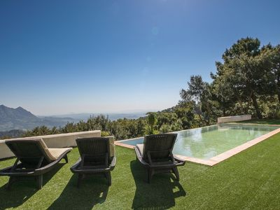 Photo for Charming luxury villa with amazing views