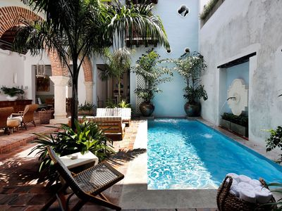 Photo for Car011 - Magnificent classic house with pool in Cartagena