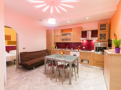 Photo for Young and colorful apartment for friends and families in San Pietro