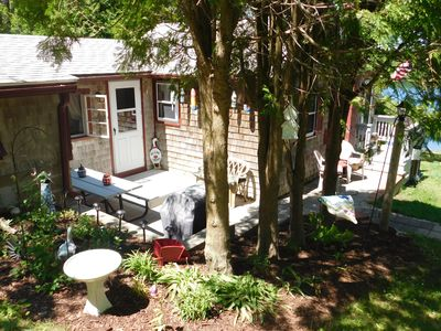 Photo for Charming Cottage with View of Hoxie Pond