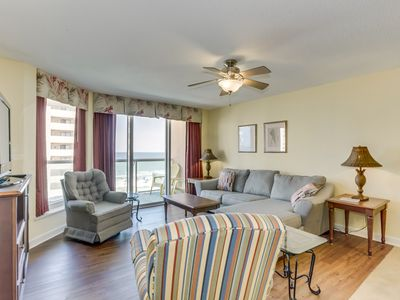 Photo for 2nd row condo with wonderful ocean views & amenities