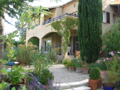 Photo for Spacious self catering half villa with swimming pool for rent  in Lodeve