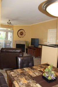 View of main living area and 47' LED tv.