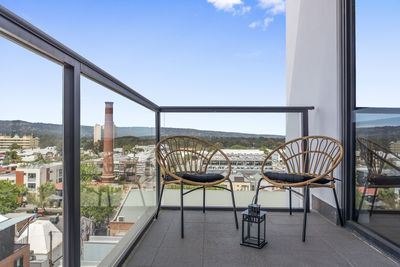 """""""Beautiful apartment with an incredible view of the city and the hills!"""" Zoe"""