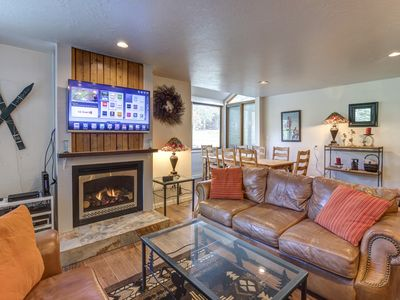 Photo for Park City 3 BD w/ Private Hot Tub and Pool Access located at the base of resort.