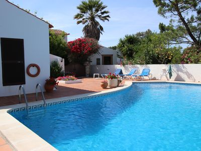 Photo for Free pool heating, gated pool and courtyard