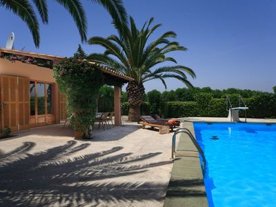 Photo for One bedroom Villa, sleeps 2 in Cas Concos with Pool, Air Con and WiFi