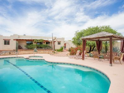 Photo for MAY DEAL: Hacienda with Views, Charm, Comfort, Quality close to town and Natl Pk